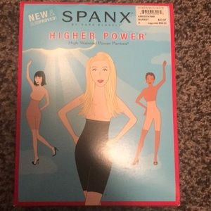 Spanx higher power high waisted power panties
